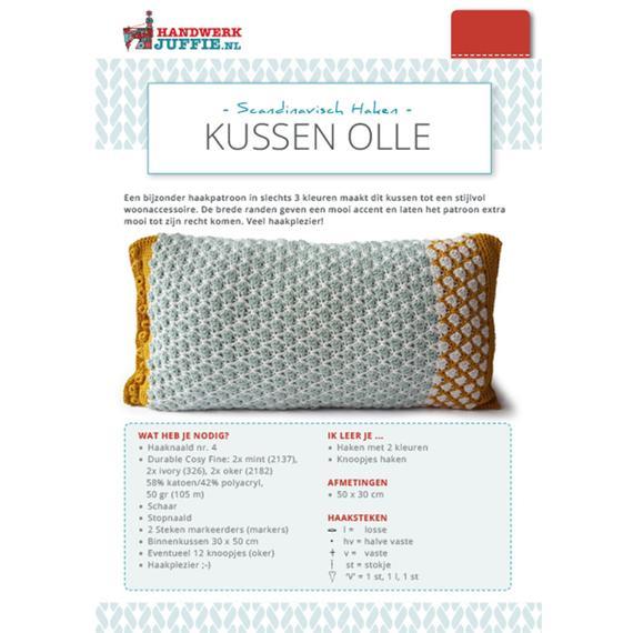 Kussen Olle Handwerkjuffie Shop