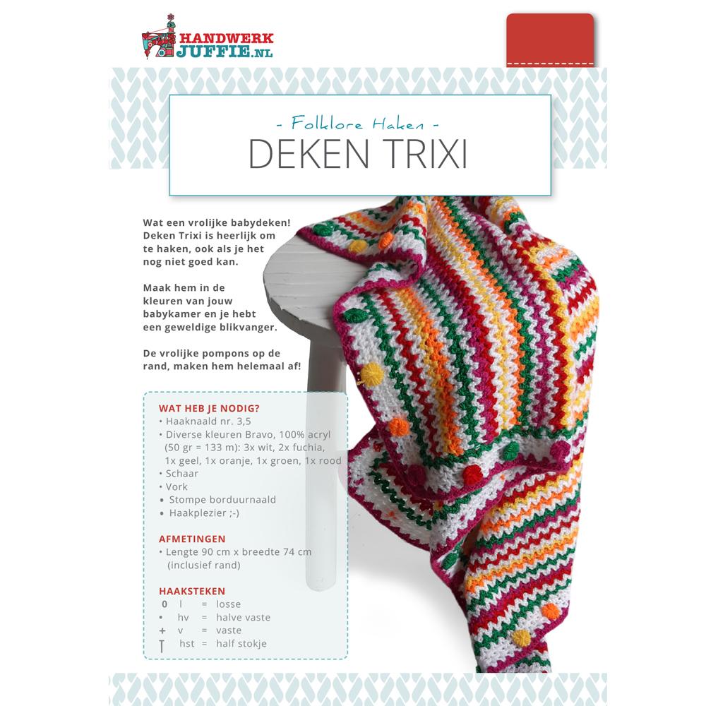 Deken Trixi Handwerkjuffie Shop