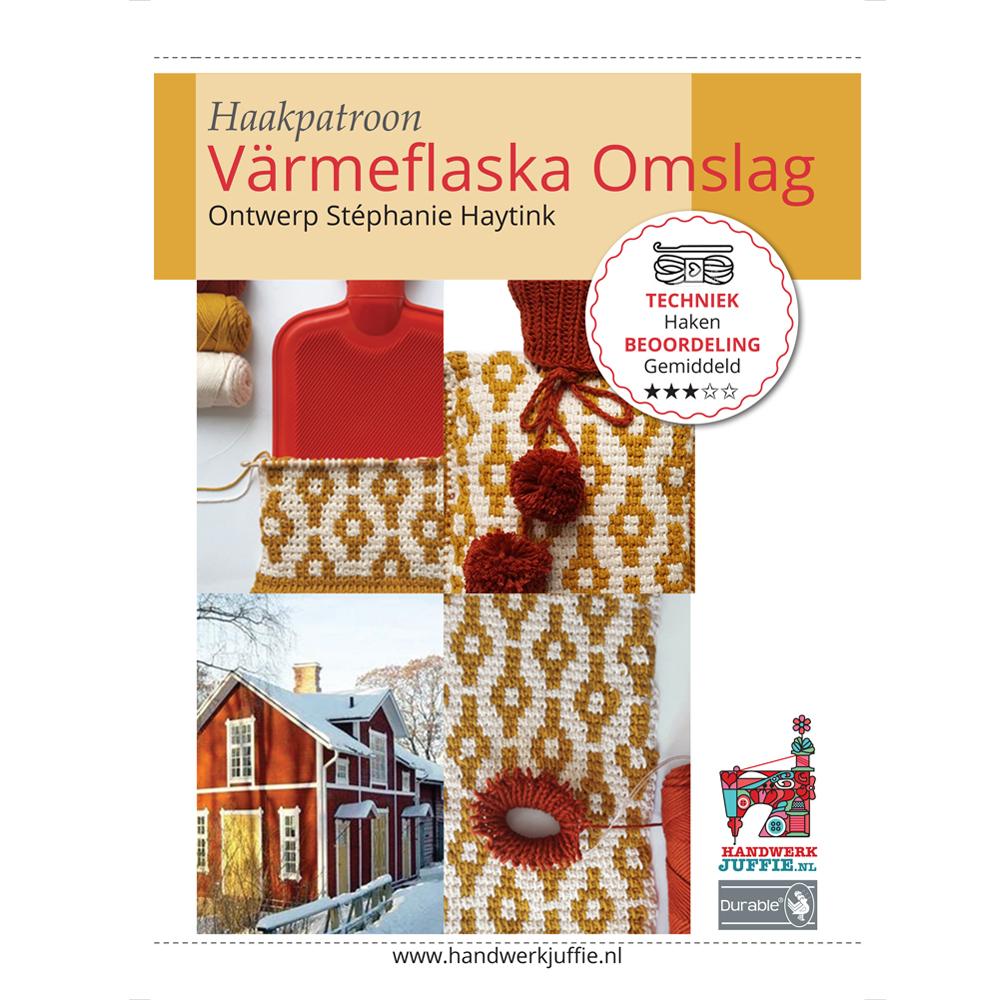 Warmwaterkruikhoes Värmeflaska Omslag Handwerkjuffie Shop